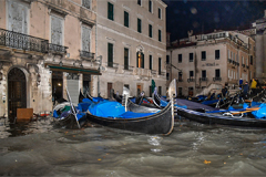 Venice devastated by second highest tide in history