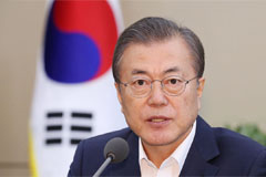 President Moon to hold talks w