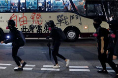 Hong Kong violence gets worse and China tells U.S. not to interfere
