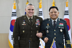 Chair of U.S. Joint Chiefs vows full use of military capabilities to defend S. Korea
