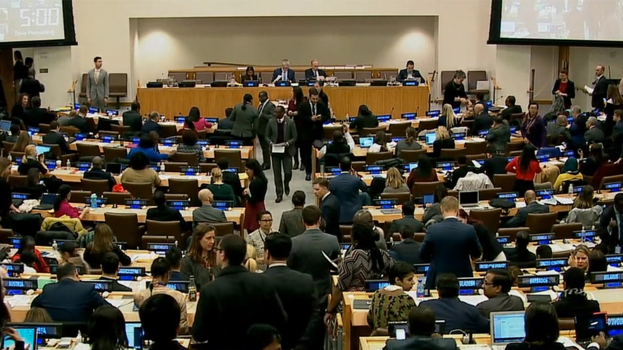UN panel adopts resolution condemning N. Korea's human rights abuses