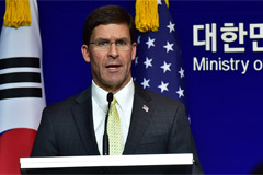 President Moon to meets U.S. Defense Secretary Mark Esper, likely to discuss GSOMIA