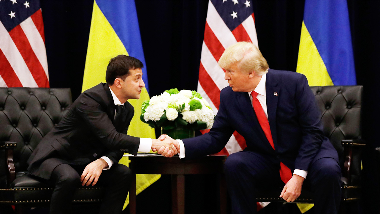 White House discloses transcript of Trump's April phone call with Ukraine's Zelensky
