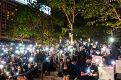 Besieged Hong Kong campus protesters seek escape routes