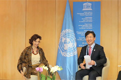 S. Korean culture minister and