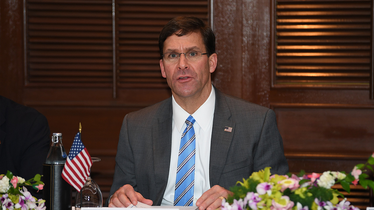 Esper refuses to speculate on whether U.S. might consider reducing troop numbers in S. Korea