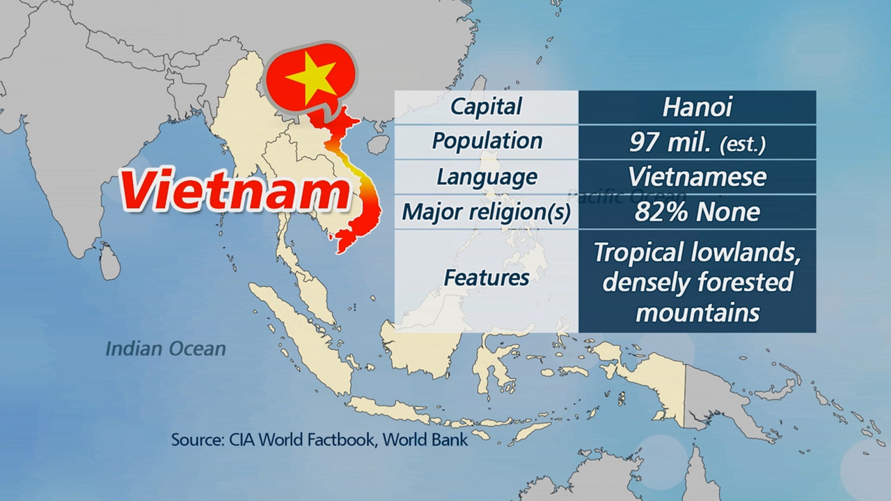 S. Korea, Vietnam aim to expand trade volume to US$ 100 bil. by 2020