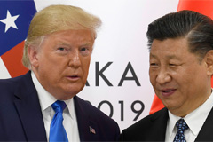 Trump says China is to make deal that he likes; sources say trade deal may not be completed this year