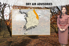 East coast under dry air advisories and fine and warm weather on Friday and Saturday