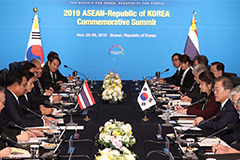 S. Korea, Thailand hope to increase cooperation in defense, water management, science technology