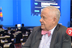 One-on-one with legendary investor, Jim Rogers, main presenter at ASEAN-KOREA Ceo's Summit