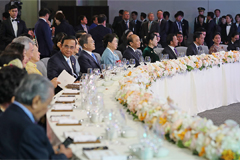 Welcoming dinner banquet for ASEAN leaders focuses on harmony and future