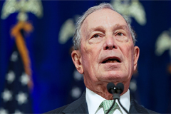 Ex-NYC Mayor Michael Bloomberg steps down from climate action role to focus on 2020 election