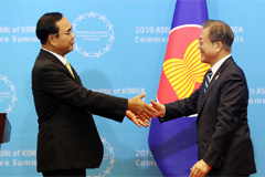 ASEAN, S. Korea to strengthen cooperation to secure peace in the region