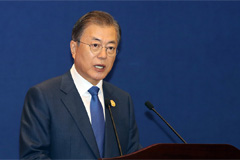 S. Korea must keep pursuing dream of becoming bridge nation: Moon