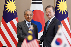 S. Korea, Malaysia to synergize 'New Southern Policy' and 'Look East Policy'