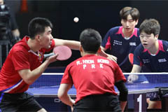 Two Koreas take each other on at int'l table tennis tournament in Russia