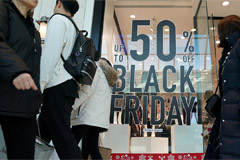 U.S. Black Friday shoppers spend over US $7.4 bil in just on-line sales