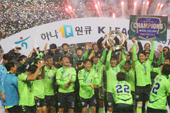 Jeonbuk wins third straight  K-League title