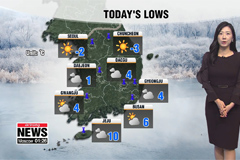 Sunday's rain cold air to country