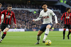 S. Korea's Son Heung-min named AFC International Player of the Year for third time
