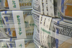 S. Korea's foreign reserves rise US$ 1.1 bil. m/m to US$ 407.5 bil. in Nov.