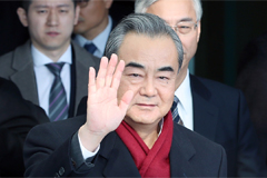 Foreign Ministers of S. Korea, China hold talks