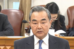 President Moon meets Chinese FM Wang Yi to discuss bilateral ties