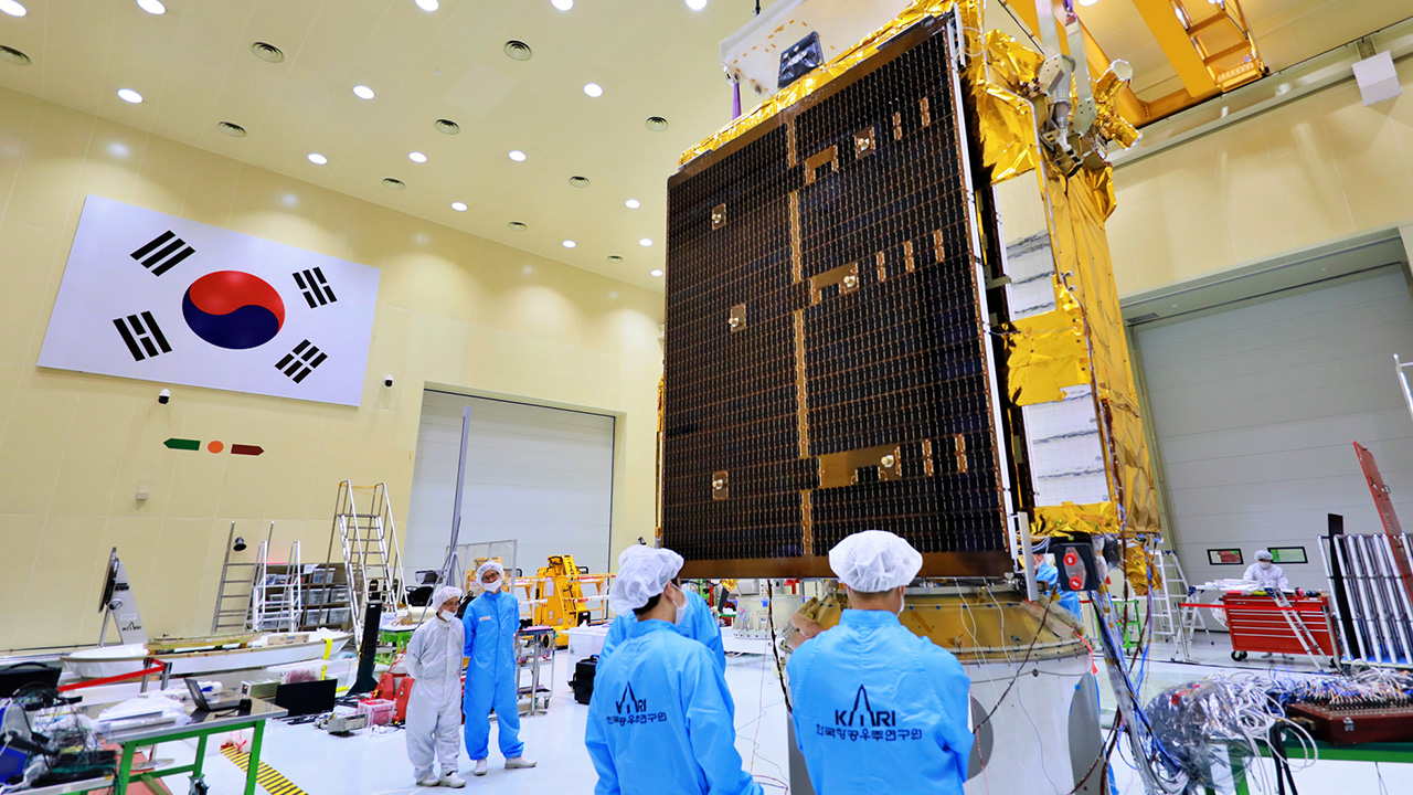 World's first geostationary air pollution monitoring satellite unveiled by S. Korea