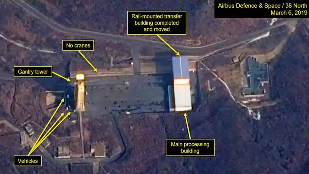 Satellite image shows new activity at Dongchang-ri's Sohae launching station: Report