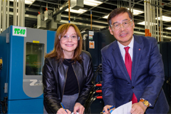 Korea's LG Chem and U.S. auto giant GM to build US$ 2.3 bil. EV battery factory in Ohio