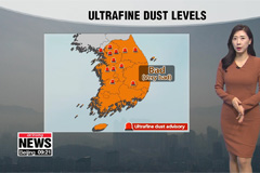 Dusty conditions to improve tonight, chilly air sweeps in