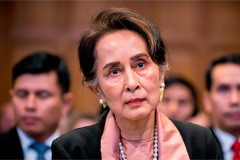 Suu Kyi to lead Myanmar's genocide defense at The Hague