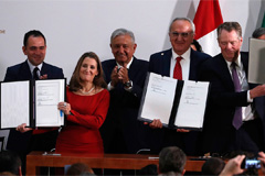 U.S., Canada and Mexico sign t