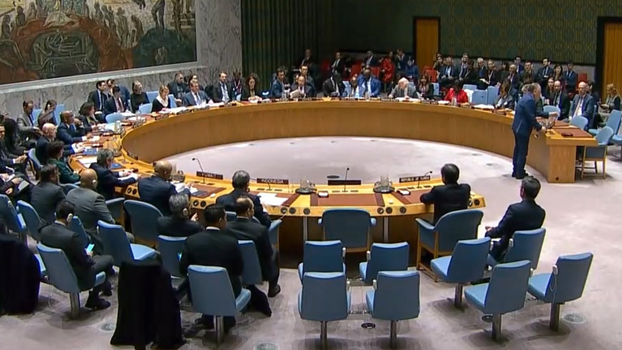UN Security Council holds session over N. Korea's missile tests