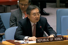S. Korean Ambassador to UN says utmost priority is maintaining momentum for dialogue with N. Korea