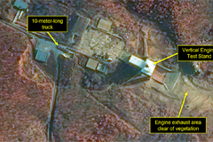 New activity spotted at N. Korea's Dongchang-ri missile launching site: 38 North