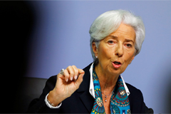 ECB keeps key rate steady at 0.00%; new ECB President Lagarde to push 'strategic review'
