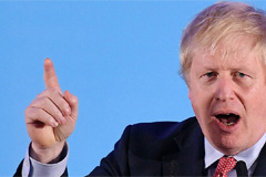 UK Prime Minister Boris Johnson claims 'powerful mandate' on Brexit