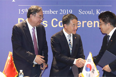 S. Korea, China, Japan to work together on health coverage, infectious disease, healthy ageing