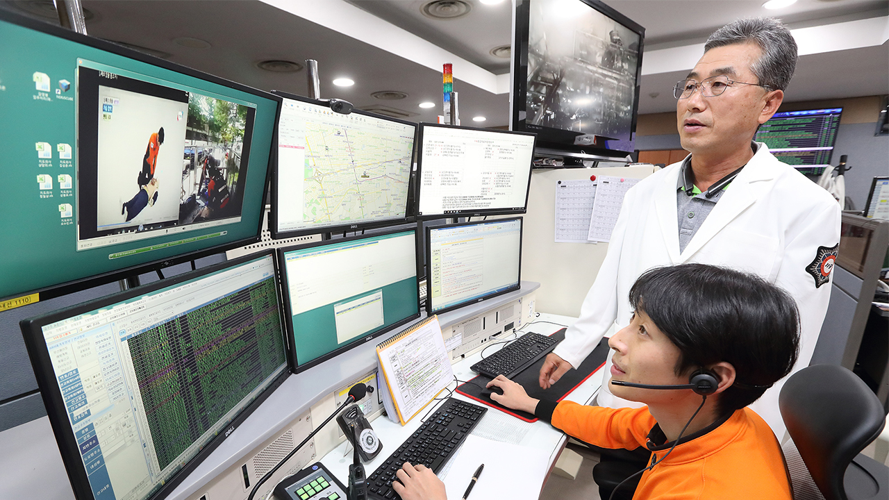 5G emergency system in Korea helps saves lives before ambulance arrives at scene