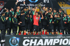 S. Korea wins 3rd straight EAFF E-1 title after defeating Japan 1-0
