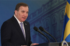 Swedish PM vows continued efforts to help achieve peace in Korea