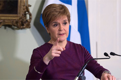 Scottish leader to push ahead with independence referendum