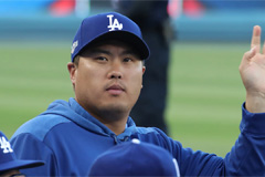 S. Korean pitcher Ryu Hyun-jin