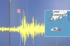 2.3-magnitude earthquake hits Jeju-do Island