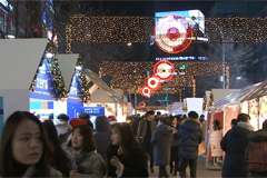 'Buy Value, Live Together' Market held in Sinchon throughout Christmas week to share value of togetherness