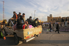 Protesters withdraw from U.S. embassy in Baghdad