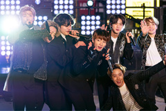 S. Korean boyband BTS perform live at NYC Times Square ahead of ball drop