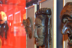 Special exhibition about traditional Korean mask dance 'Talchum' held in Jeonju